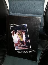 1989 GRANADA HILLS HIGH SCHOOL Yearbook Tartan California Hardcover Original