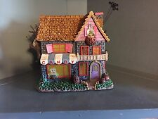 Hawthorne Village Poohs Haunted Acre Halloween Village Candy Shoppe COA IOB