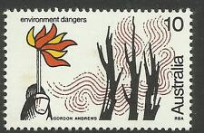 AUSTRALIA 1975 BUSHFIRE DANGERS FIRE PREVENTION 1v MNH