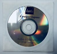 Dantz Retrospect Express Backup 6.5 for Optical Drive Storage