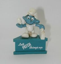 "Smurf-a-Grams ""Let's PATCH Things Up"" Figure F865"