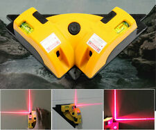 Pro Vertical Horizontal Nivel Laser Level Line Projection Square Angle 90 Square