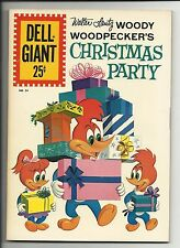 Dell Giant #54 Walter Lantz Woody Woodpecker's Christmas Party - fine/very fine