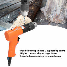 Reversible Pneumatic Drill 12in Air Drill Cw Ccw Pistol 13mm Hole Drilling Tool