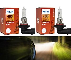 Philips Rally Vision 9005 HB3 100W Two Bulbs Head Light Dual Beam Off Road Lamp