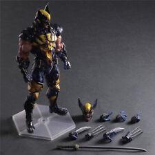 New Play Arts Kai X-Men Wolverine Hero Series 26cm Action Figur Figuren NIB Gift