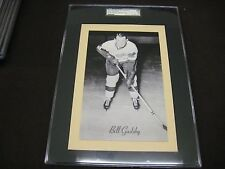 RARE 1945-64 BEEHIVE GROUP 2 RED WINGS BILL GADSBY  SGC GRADED YELLOW BACK