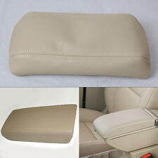 Leather center console lid armrest cover for Honda Accord 2003 2004 2005 06 2007