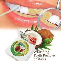10g Coconut Oil Toothpaste Herbal Natural, Clove, Mint, Whitening·Neu D5P7 N6W6