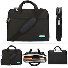 For Men/Women 13 14 Inch Multi-Pockets Portable Fabric Laptop Case Shoulder Bag