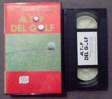 VHS FILM Ita AL TOP DEL GOLF ballesteros nicklaus irwin ex nolo no dvd(VH63)