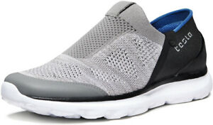 TSLA Men's Loafers & Slip-On Shoes, Comfortable Casual Work Sneakers