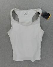 NWT Nike Compression Running Fitness Sleeveless Tank (Womens Small) White