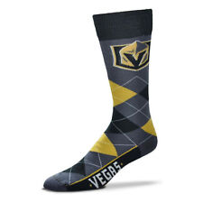 Vegas Golden Knights Men's Crew Socks One Size Fits Most Argyle Lineup