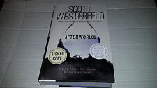 Afterworlds by Scott Westerfeld (2014, Hardcover) SIGNED 1st/1st Exclusive Ed.