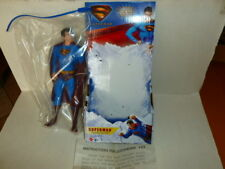 "2006 mattel superman returns 10"" dc comics action figure buone condizioni"