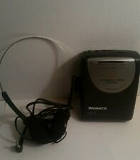 Magnavox AQ 6560 Stereo Radio Cassette Player with Headphones