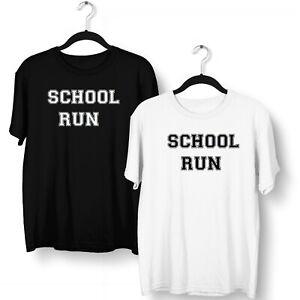School Run T Shirt Funny Mum Kids Back To School 8th March Lockdown Home School