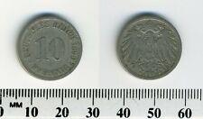 German Empire Jägernr 13 1890 A Copper-Nickel very fine 1890 10 Pfennig large I