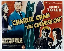 AWESOME SIDNEY TOLER, CHARLIE CHAN THE CHINESE CAT, LOBBY CARD PHOTO  8X10
