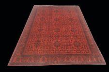Afghan Tribal Rug 5' x 8' Oriental Handmade Khal Mohammadi Turkoman Carpet