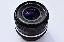 Nikon (Nikkor) 35mm f/2.8 AI Super sharp MF Lens. EXC+++ See test pics