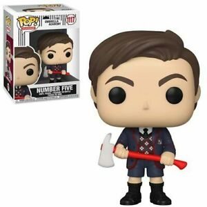 Funko Pop! #1117 Number Five with Axe The Umbrella Academy w/ protector In stock