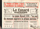 CANARD ENCHAINÉ Birthday Newspaper JOURNAL NAISSANCE 29 AVRIL APRIL 2009