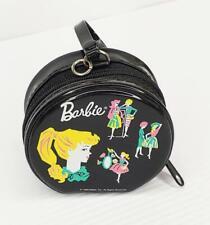 "Circa 1999 Mattel Miniature BARBIE DOLL Zipper CARRY CASE Sweet 3"""
