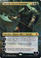 EXTENDED ART Garruk Cursed Huntsman Throne of Eldraine ELD MTG NM FREE SHIPPING