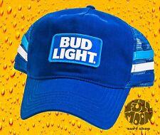 New Budweiser Bud Light Men's Trucker Snapback Hat Cap