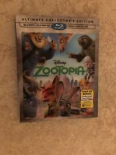 Zootopia ( Bluray +Bluray 3D+DVD+Digital HD) Brand New W/ Lenticular Lens Sleeve