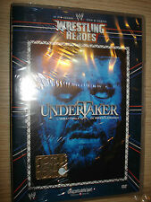 DVD N° 6 WRESTLING HEROES UNDERTAKER L' IMBATTIBILE DI WRESTLEMANIA GRANDI STAR