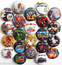 HELLOWEEN Pins Buttons Badges Heavy Power Metal Set Lot of 22