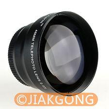 46mm 46 mm 2.0x 46 2x TELE Telephoto LENS black NEW