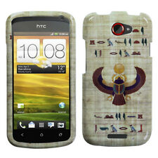 For T-Mobile HTC ONE S HARD Protector Case Snap On Phone Cover Egyptian Scarab