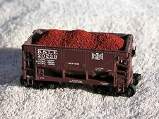 """12-pack of Hay Bros IRON ORE LOADS - Fits Walthers """"MINNESOTA"""" IRON ORE Cars"""