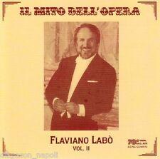 Flaviano Labo': Il Mito Dell' Opera vol.II - CD