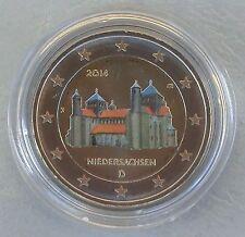 2 Euro Deutschland 2014 Niedersachsen / Michaeliskirche in Farbe unz