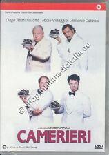 CAMERIERI Abatantuono, Villaggio - DVD NUOVO!