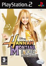Videogame Hannah Montana - Il Tour Mondiale! PS2