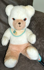 """VINTAGE 50's CUDDLE TOYS BY DOUGLAS DING-DONG CHIME 15"""" TEDDY BEAR PLUSH, W/TAGS"""