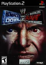 WWE Smackdown Vs. Raw PS2 Playstation 2 Game Complete