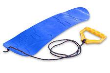 Ondis24 Mini Snowboard für Kinder Rutschboard Lern-Snowboard mit Halteseil blau