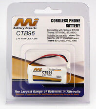 Telstra 6010 9200 9200a V850a V850q V950a Cordless Phone Battery NiMH CTB96-BP1