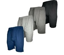 Mens Sweat shorts With Pockets Slim-Fit French Terry Cotton Lounge Gym Workout