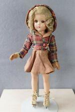 "New ListingVintage 18"" Arranbee R&B Nancy Lee Composition Skater Doll"