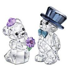 "SWAROVSKI SILVER CRYSTAL ""KRIS BEARS -YOU AND I, KRIS BEAR' THEME GROUP"" 1096736"