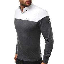 Camisas y polos de hombre de manga larga de color principal gris talla XXL