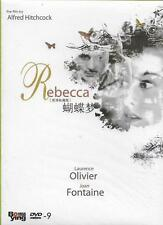 Rebecca DVD Alfred Hitchcock Laurence Olivier Joan Fontaine B&w 1940 R0